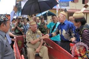 Gubernur Kaltim Pantau Pembangunan Infrastruktur Perbatasan