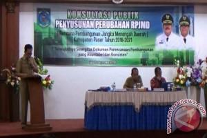 Pemkab Paser Gelar Konsultasi Publik Revisi RPJMD