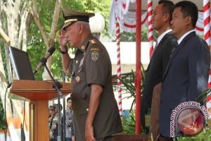 Gubernur Kaltim Pimpin Upacara HUT Satpol PP-Linmas