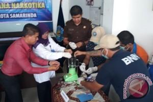 BNNK Samarinda Musnahkan Sabu-sabu 37,48 Gram