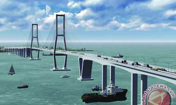 Biaya Jembatan Penajam-Balikpapan Naik 20 Persen