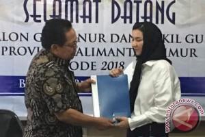 Rita Widyasari Resmi Daftar Bacagub ke Nasdem