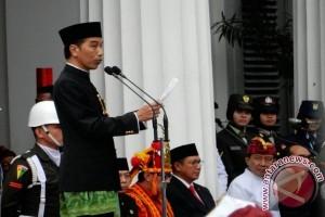 Presiden Jokowi Ajak Komponen Bangsa Jaga Pancasila