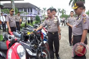 Polres Paser Tangkap 10 Pencuri Kendaraan