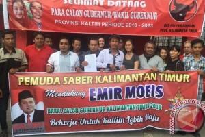 Emir Moeis Didukung Sayap PDIP Daftar Bacagub