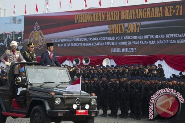 Lima Instruksi Presiden untuk Polri
