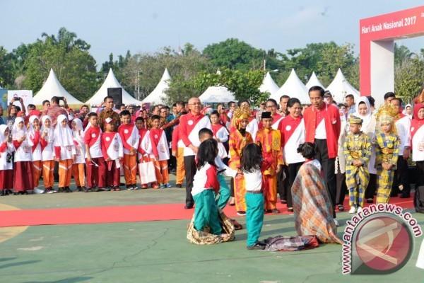 Anak Indonesia Sampaikan 10 Permintaan kepada Presiden Jokowi