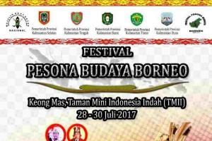 Festival Pesona Budaya Borneo 2017 Digelar di TMII
