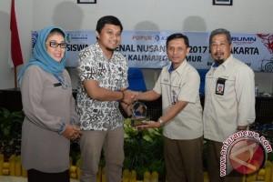 Peserta Program Siswa Mengenal Nusantara Kunjungi Pupuk Kaltim