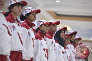 Presiden Jokowi Lepas Kontingen SEA Games