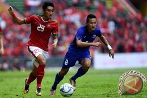 Indonesia Bermain Imbang 1-1 Lawan Thailand