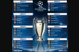 Hasil Undian Liga Champions 2017/2018