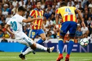 Real Madrid Ditahan Valencia 2-2