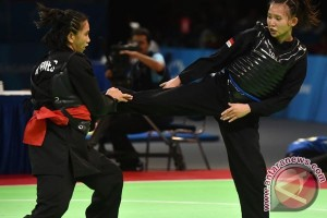 Pesilat Kaltim raih emas test event Asian Games