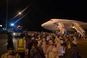 Jamaah haji embarkasi Balikpapan diberangkatkan 27 Juli