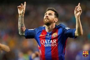 Empat Gol Messi Antarkan Barcelona Gusur Eibar