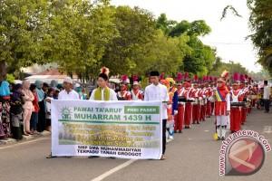 Pawai Tahun Baru Islam di Paser Berlangsung Meriah