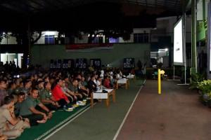 Presiden dan Panglima TNI Serius Nonton Film G30S/PKI