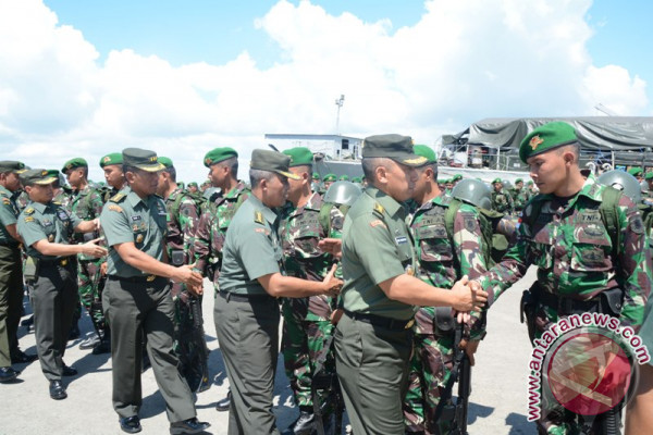 Pasukan Baru Jaga Perbatasan Indonesia-Malaysia