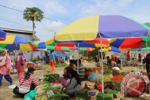 186 Pedagang Sayur  Pasar Panyembolum Direlokasi