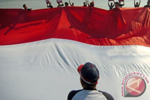 Pengibaran Bendera di Penajam Bakal Pecahkan Rekor MURI