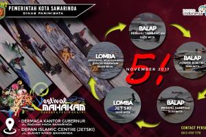 Festival Mahakam Samarinda Digelar 3-5 November 2017