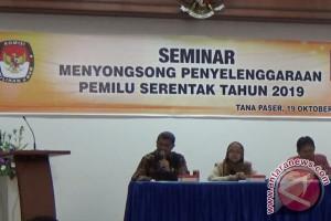 KPU Paser Gelar Seminar Jelang Pemilu Serentak