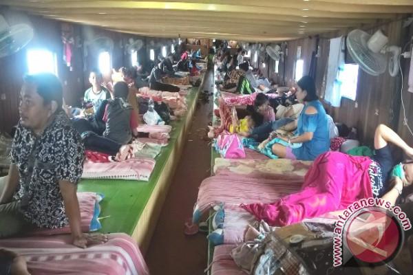 Kapal Samarinda-Mahulu Dipenuhi Penumpang Jelang Natal
