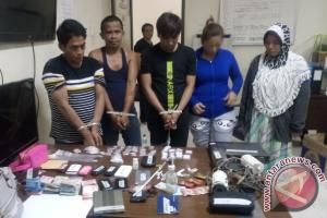 BNNP Kaltim Ringkus Lima Anggota Jaringan Narkoba
