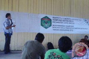 Pendamping desa di Mahulu fasilitasi pembentukan kader teknik