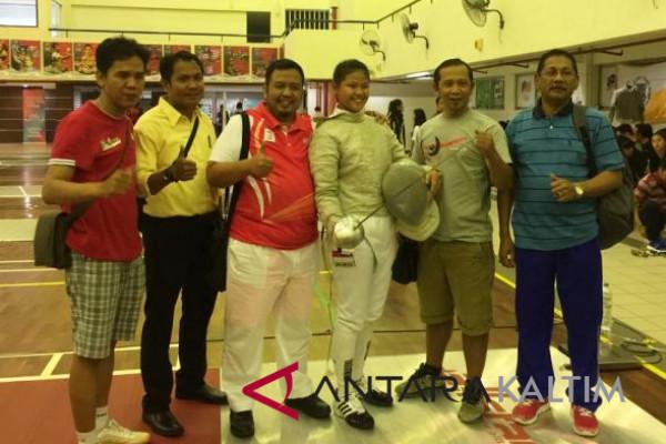 Gaby Novita raih emas Kejuaraan Anggar Asia Tenggara