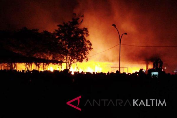 Tim Labfor Selidiki Kebakaran Pasar Induk Paser