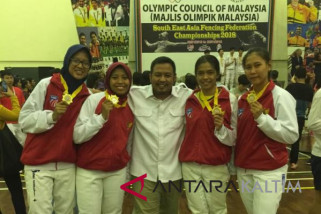 Indonesia rebut dua emas Kejuaraan Asia Tenggara di Malaysia