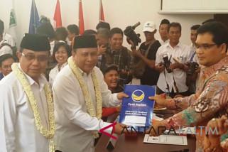Cawagub Kaltim Nusyirwan Ismail dikabarkan dalam kondisi kritis