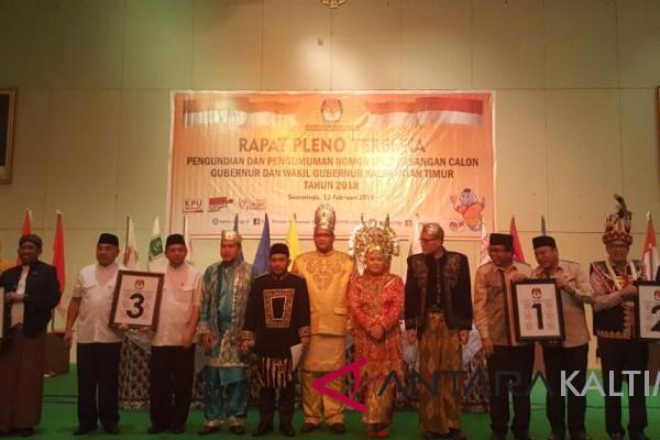 Konsep Budaya Nusantara meriahkan pengundian nomor urut paslon