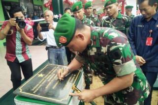Koramil perbatasan RI-Malaysia resmi beroperasi
