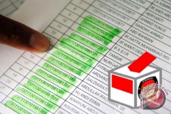 KPU Kaltim tetapkan DPS Pemilu 2,3 juta orang