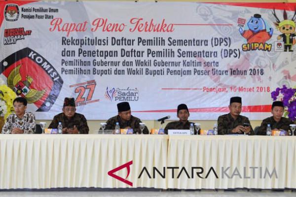 DPS Penajam bertambah 4.301 pemilih