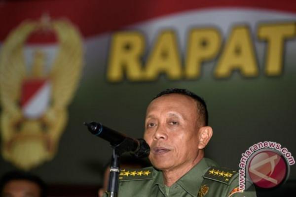 KSAD pimpin sertijab sejumlah perwira tinggi