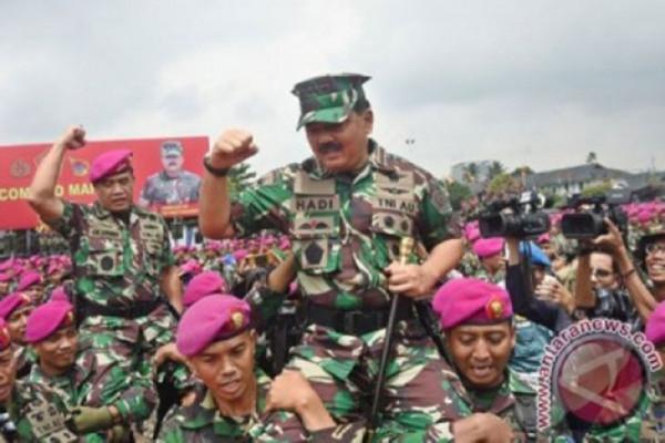 Panglima TNI usulkan kenaikan kesejahteraan prajurit 57 persen