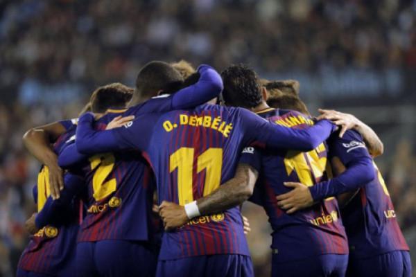 Ditahan Vigo 2-2, Barcelona belum terkalahkan