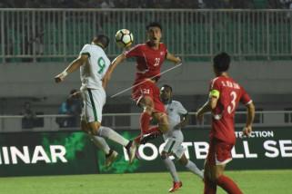 Timnas Indonesia ditahan Korut tanpa gol