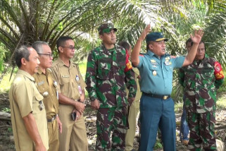 Wakil Aster Panglima TNI tinjau TMMD di Paser