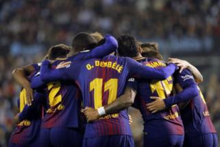 Barcelona rebut gelar La Liga ke-25 kalinya