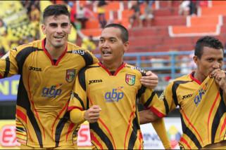 Mitra Kukar tumbangkan Sriwijaya 3-0