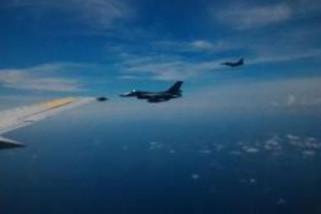 Empat F-16 kawal rombongan Panglima TNI ke Natuna