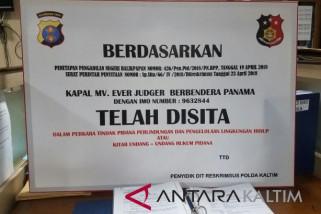 Polisi sita kapal MV Ever Judger sebagai barang bukti