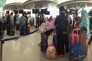 Arus mudik - Bandara Sepinggan sediakan ruang menginap bagi penumpang
