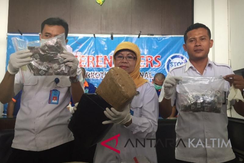 Mahasiswa ditangkap saat ambil paket ganja 1 kilogram