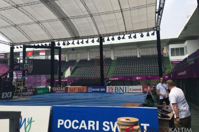 Asian Games - Panitia basket 3x3 kebut kesiapan arena